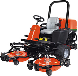 "Jacobsen ROTARY AR-3 30"" DECK - REAR (shaft with flats & pin holes)"