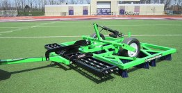 Synthetic Sports Turf Groomer