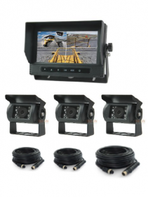 Waterproof Monitor and (3) Camera System ***eta 10-15days***