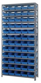Quantum Storage 60 Bin Shelf unit