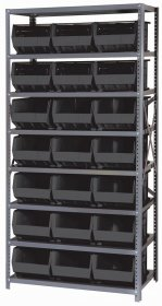 Quantum Storage Giant Open Hopper 21 Bin Shelving